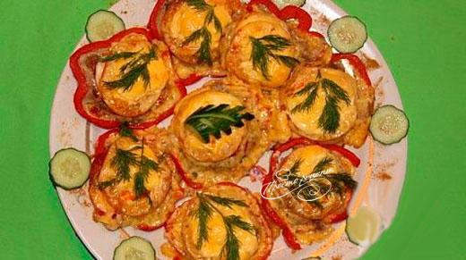Горячая закуска из мяса «Нежность»