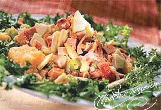 Мясной салат Классический