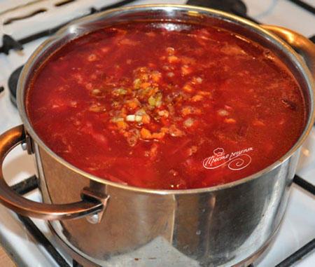 Рецепт приготовления борща пошаговый рецепт пошагово 74