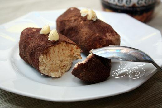 Пирожное картошка со сгущенкой
