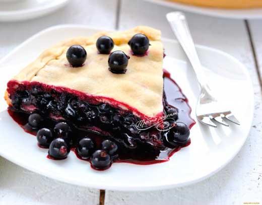 Пирог из смородины
