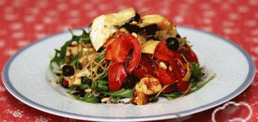 Салат с консервированными артишоками