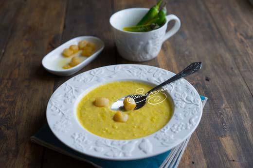 Кукурузный суп пюре