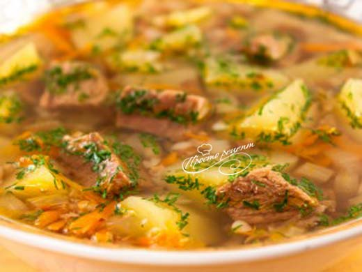 Гречневий суп