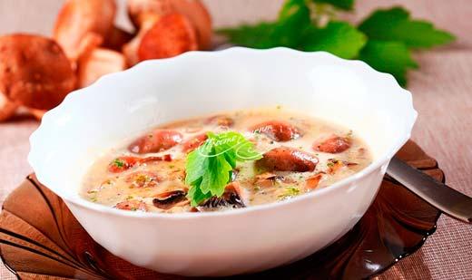 Суп з рижиків