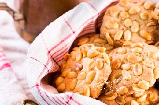 Пісочне печиво з арахісом