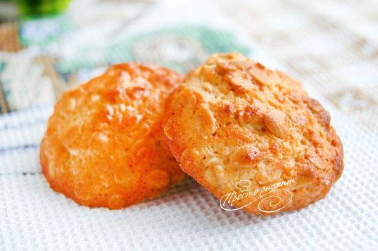 Вівсяне печиво з кокосом