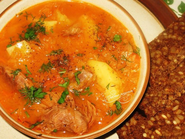 Суп з гусака