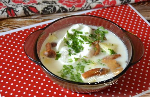 Грибний суп по-чеськи