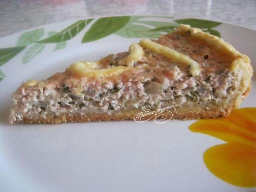 Мясной пирог с фаршем