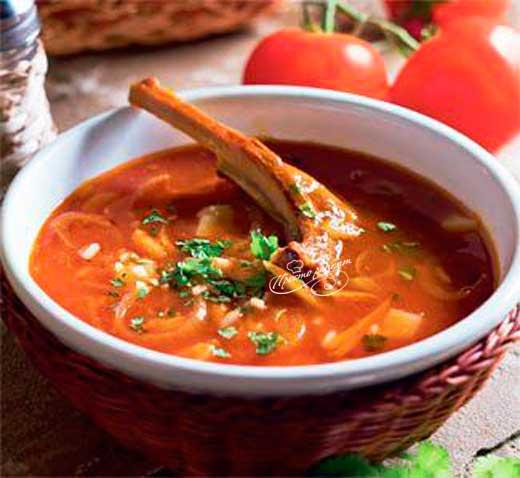 Ароматный суп харчо