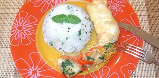 Рис с кунжутом на гарнир
