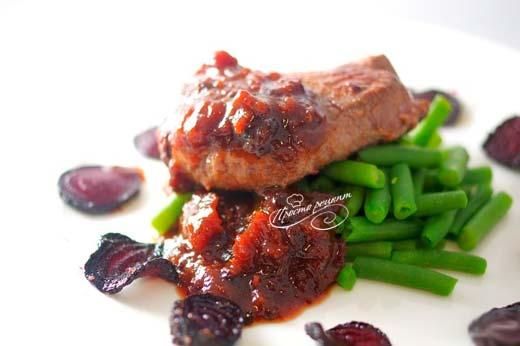 Соус из чернослива к мясу