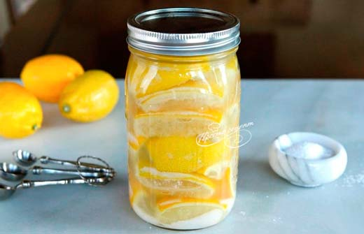 Лимоны консервированные