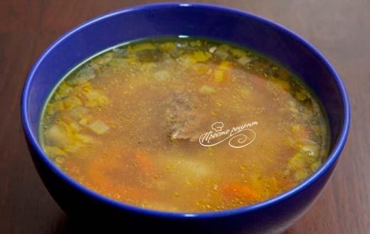 Суп из легкого