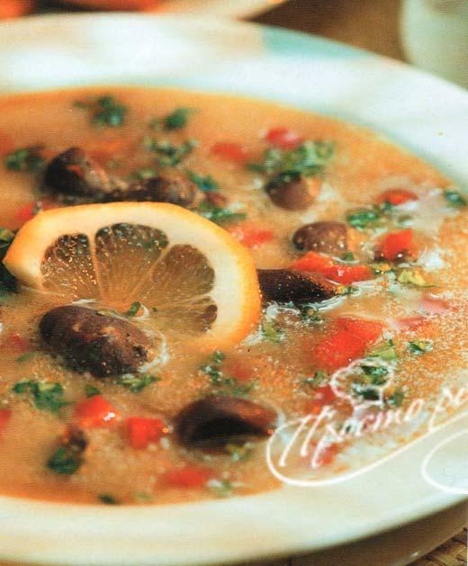 Английский суп из почек