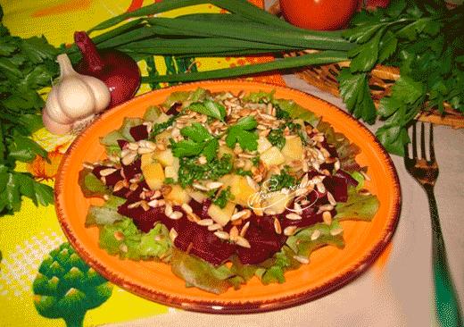 Салат из брюквы