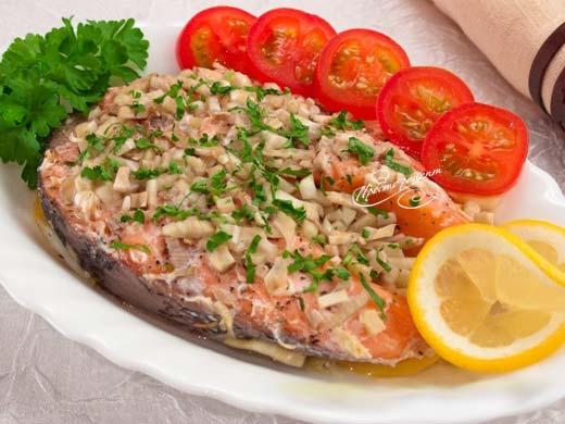 Рыба с фенхелем