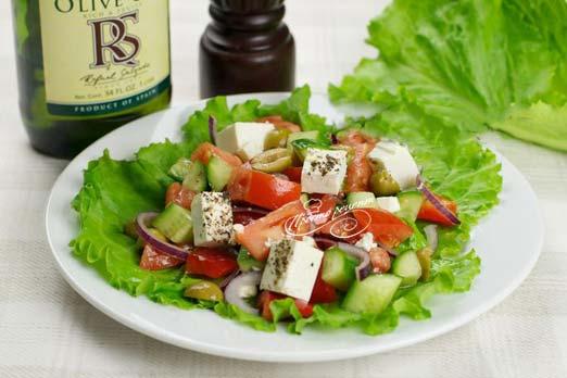 Салат греческий рецепт классический с брынзой