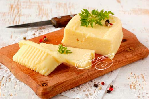 Домашний плавленый сыр из творога