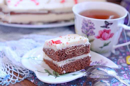 Торт на кислому молоці