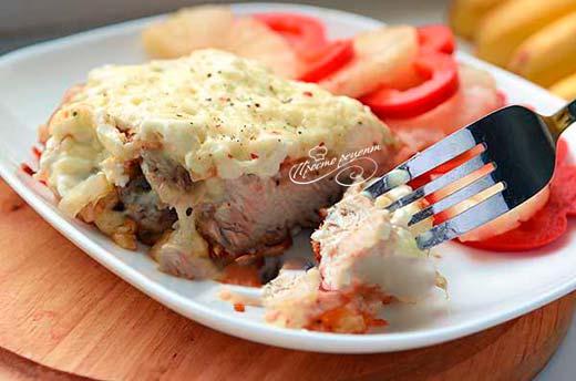 Мясо по-французски в мультиварке