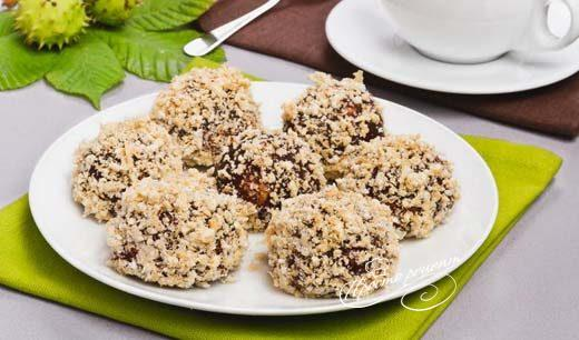 Печенье каштаны в духовке