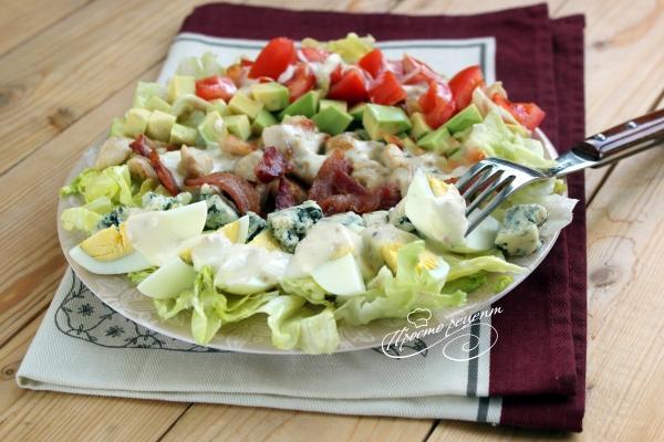 Кобб салат c курицей