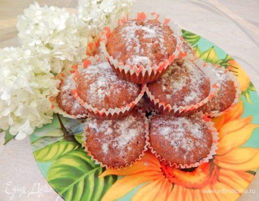 Маффины с финиками и грецкими орехами