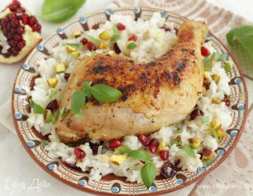 Курица с рисом по-персидски