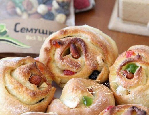 Нежные булочки «Марципаны»