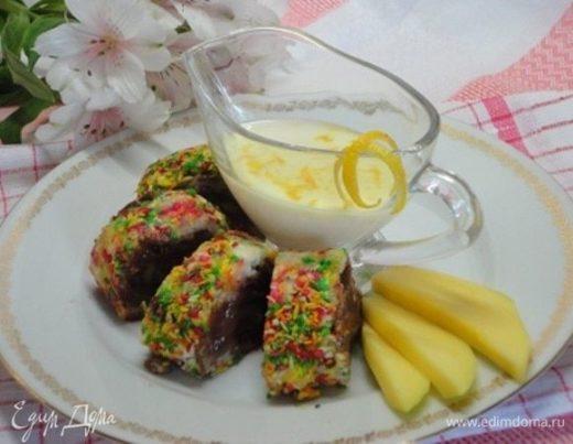 Десертные роллы «Тропикана»