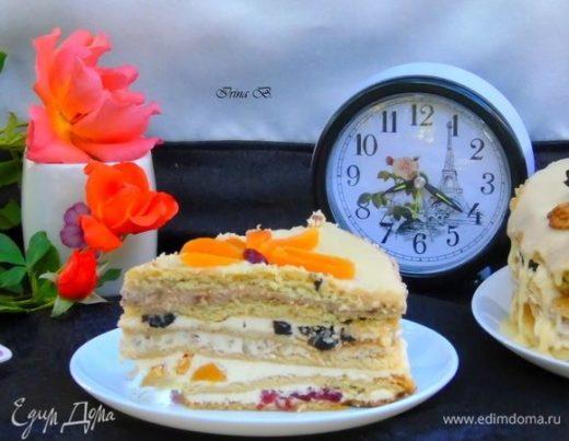 Песочный торт
