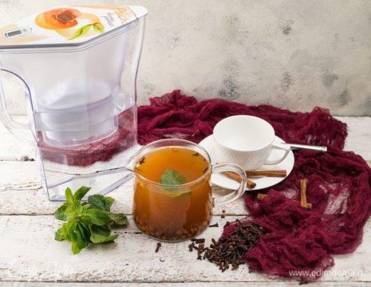 Пряный облепиховый чай
