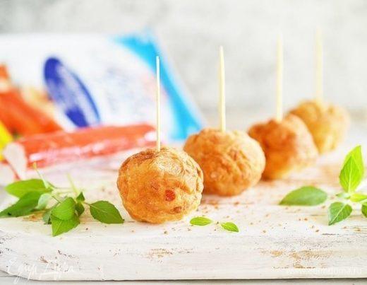 Крабовые пончики с сыром