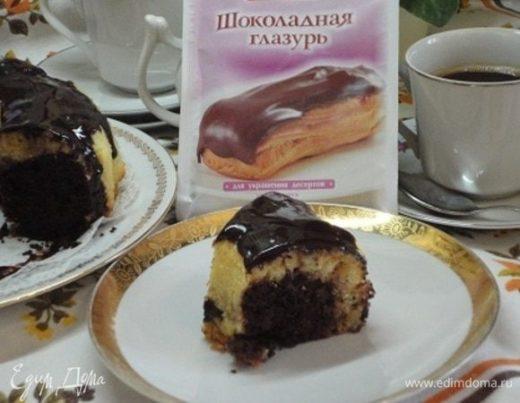Шоколадно-лимонный манник