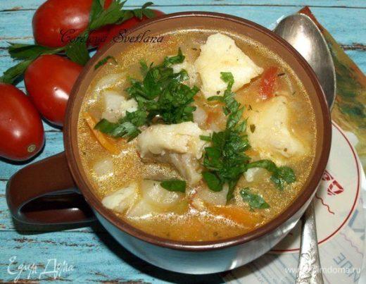 Традиционный исландский рыбный суп