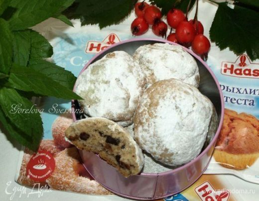 Печенье с шоколадом и морской солью