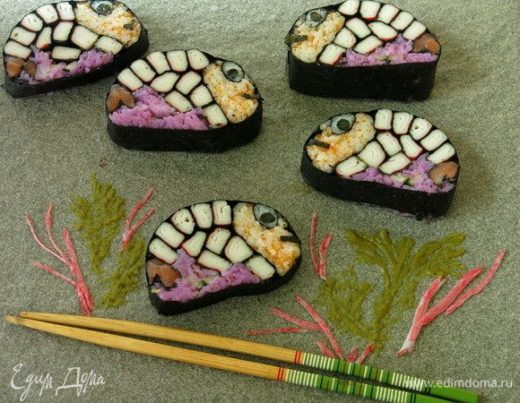 Суши «Рыбки»