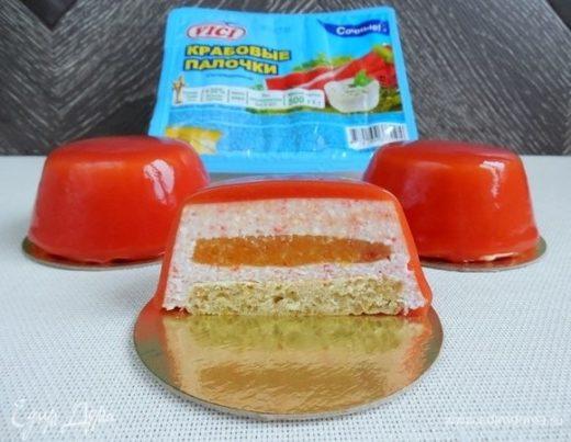 Муссовое пирожное «Экзотический краб»