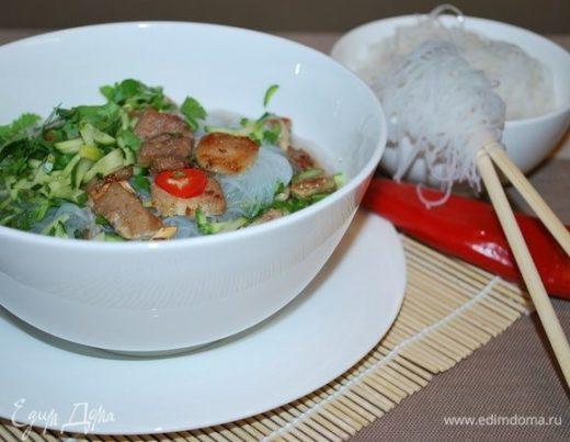 Согревающий вьетнамский суп