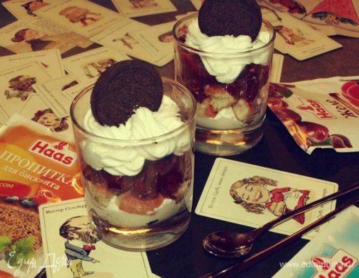 Десерт «Вишневый пустяк»