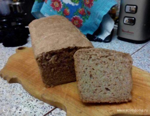 Домашний черный хлеб