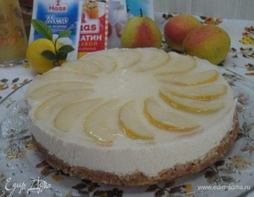 Лимонно-грушевый творожник