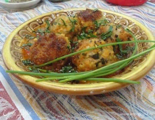 Фрикадельки по-мароккански в томатном соусе