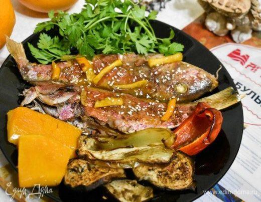 Рыба в карамельном соусе по-вьетнамски