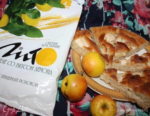 Пирог с яблоками (постный)