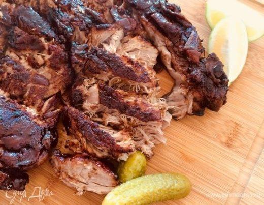 Томленая свинина (для бургеров)