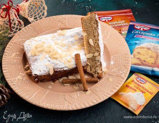 Норвежский миндальный пирог