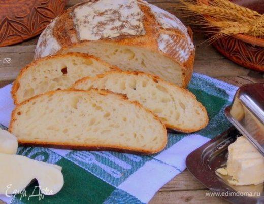 Хлеб с оливковым маслом на закваске